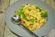 減塩レシピ 減塩焼肉のたれでレタス炒飯
