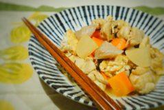 減塩レシピ だしつゆでお手軽簡単 鶏肉と大根と厚揚げの煮物
