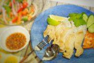 減塩レシピ 簡単シンガポール風チキンライス