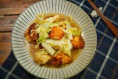 減塩レシピ 鶏胸肉と白菜の中華煮