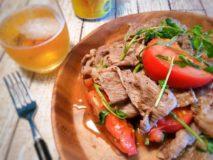 減塩レシピ 牛肉とトマトのスパイシー炒め