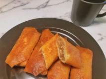 減塩レシピ 挽肉の旨味たっぷり減塩春巻き