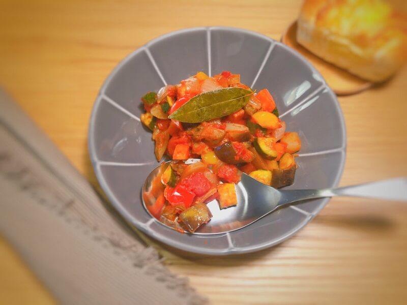 減塩レシピ 夏野菜たっぷり減塩ラタトゥイユ